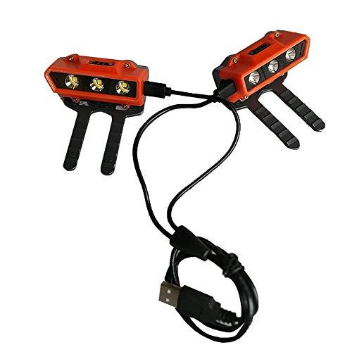 Luces de zapatos para correr, fácil instalación en zapatos de perro caminando por la noche corriendo equipo impermeable lámpara de zapatos funciona con pilas