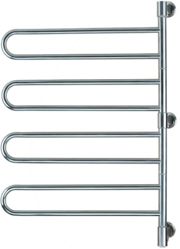 Amba J-B004 P Swivel Jill 25-Inch x 37-Inch Towel Warmer, Polished