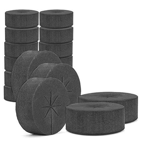 Klonmaschine Klonkloner Root Riot Collars - Gartenklonhalsbänder Neopreneinsätze - Schwammblock Für 0.79-Zoll-Netz-Töpfe Hydroponiksysteme Und Klonmaschinen(30/60/120 Stück)