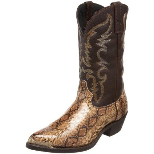 Laredo Men's 68068 Monty Western Boot,Brown/Copper,10.5 D US