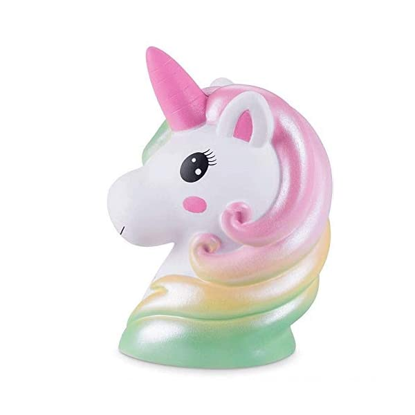 YXJC Fun Toys Squishies, Starry Unicorn Squishy, Creamy Aroma Slow Rising Squeeze Toys for Boys and Girls Gifts (Color : Colorful) 3