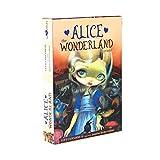 jiheousty Alicia el país de Las Maravillas Oracle Cards Full English 45 Cards Deck Tarot Juego de Mesa