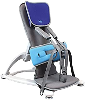 Firefly by Leckey GoTo Postural Support Seat - Lightweight Portable Supportive Seat for Children with Special Needs – Floorsitter and Standard Headrest - Blue, Size 2