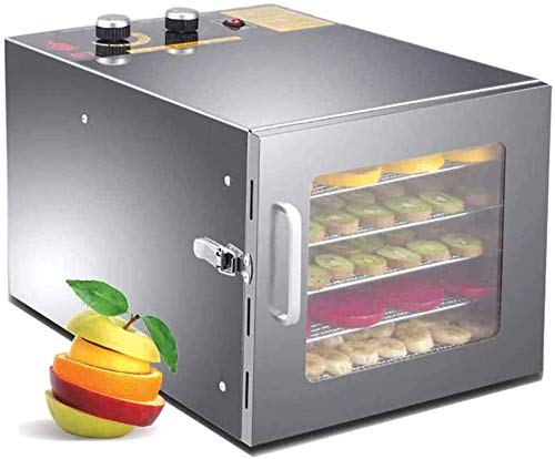 Why Should You Buy Food Dehydrator Machine Electric with Timer and Thermostat Control and 6 stackabl...