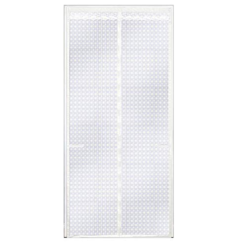 Patrón De Cubo Blanco Mosquiteras Imantadas 90x200cm / 35x7