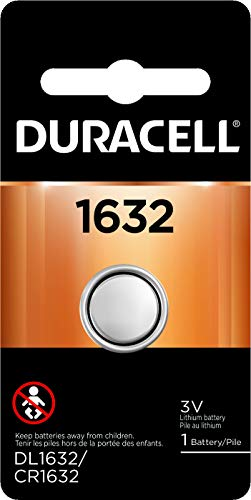 Duracell - 1632 3V Lithium Coin Battery - Long Lasting Battery - 1 Count