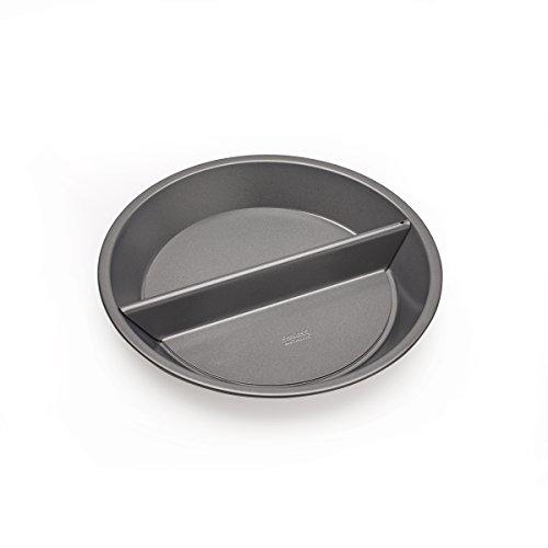 Chicago métallique en Aluminium Split décision Pie en métal Cuisson pan-9-inch x 9 x 2,5 cm