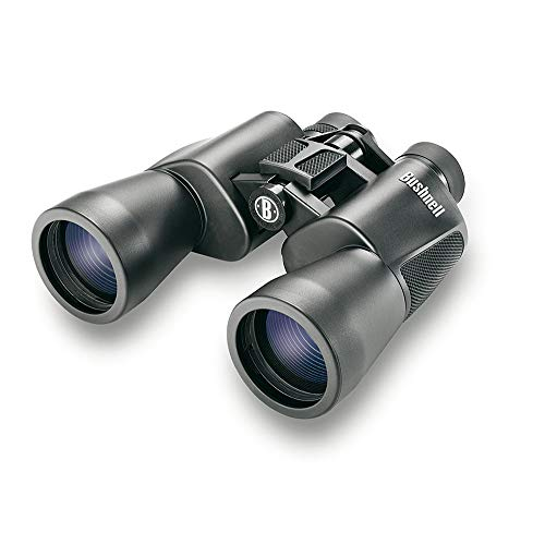 Bushnell Powerview 12x50 Wide Angle Binocular, Black