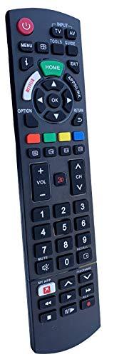 [ BELIFE ] Universal Panasonic TV Fernbedienung - Funktioniert mit Allen Panasonic TV/Smart TV - die Beste TV-Ersatzfernbedienung für ihre Panasonic Fernseher (Netflix | Home | APPS Taste)
