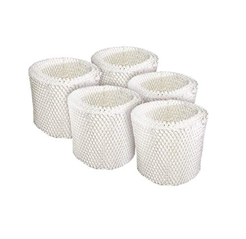 LifeSupplyUSA 5 Pack Humidifier Replacement Filter Compatible with Graco 4 Gallon Model 2H02 2H03 and Compatible with Hamilton Beach TrueAir 05520 05521 05920