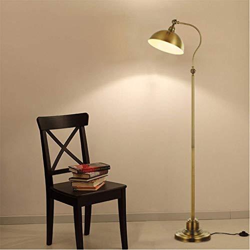 JBP Max vloerlamp woonkamerlamp antiek koper woonkamervloer lamp tafellamp 12