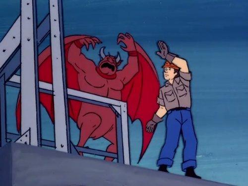 A Frightened Hound Meets Demons Underground