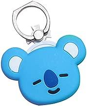 Youyouchard Kpop BTS Universal Phone Ring Stand Holder Finger Ring Grip Stand Holder Ring 360°Rotation LED Phone Ring Grip(KOYA)