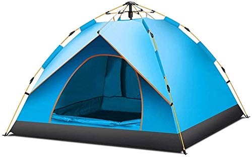 LAZ Outdoor Sports Large Beach Canopy 3-4 People Camping Rainproof Tent (Color : B)