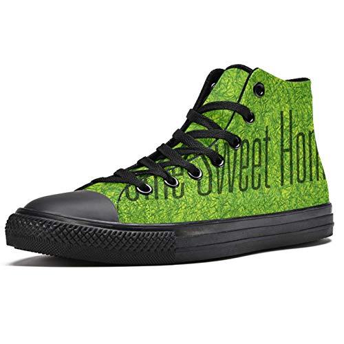 LORVIES Sweet Home - Zapatillas deportivas de lona para hombre, (multicolor), 36 EU