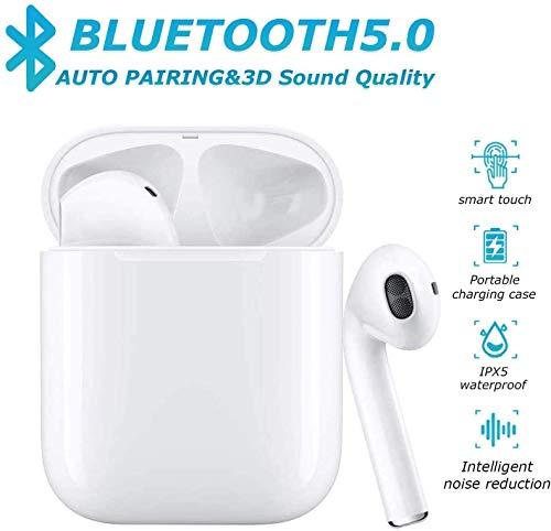 Bluetooth-Kopfhörer,kabellose Touch-Kopfhörer HiFi-Kopfhörer In-Ear-Kopfhörer Rauschunterdrückungskopfhörer,Tragbare Sport-Bluetooth-Funkkopfhörer,Für Airpods Android/iPhone/Samsung/AirPods Pro