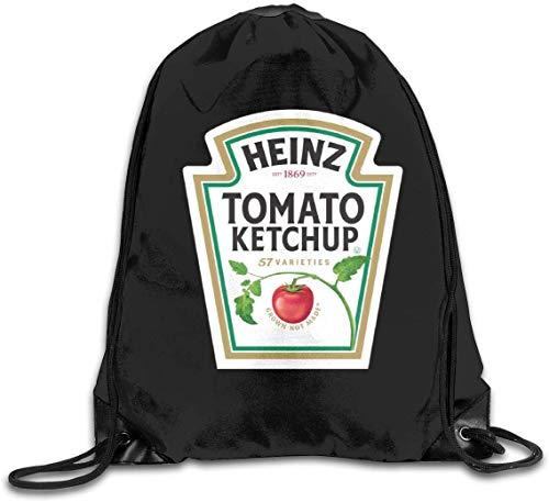 engzhoushi Turnbeutel,Sporttaschen,Schultasche Drawstring Bulk Bags Cinch Sacks Backpack Pull String Bags Heinz Tomato Ketchup
