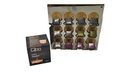 Passend für Qbo You-Rista - Kaffeekapselmaschine für 12 Kapsel immer griffbereit neben der Maschine Ihre Lieblingssorte