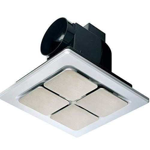 Sgfccyl Avent 8 inch afzuigkap badkamer keuken ventilatie luchtvolume: 140 m3/h, displaygrootte: 255 x 255 mm, openingsgrootte: 205 x 205 mm