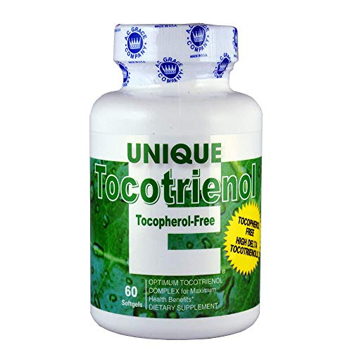 A.C. Grace - Unique E Tocotrienol Complex Tocopherol Free - 60 Softgel
