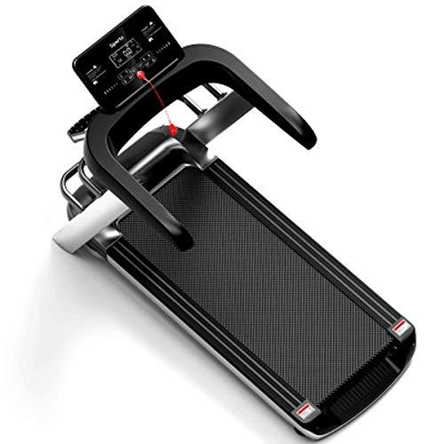 LQP-cinta de correr electrica Hogar cinta de correr, Máquinas de ejercicios pequeña, Mini plegable de múltiples funciones eléctrico caminadora gimnasio caminadora eléctrica inteligente cubierta