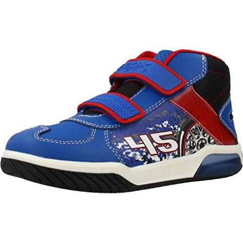 Geox J Inek Boy Sneaker Jungen Blau/Rot - 32 - Sneaker High Shoes