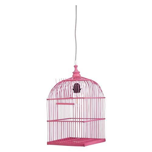Pendellampe Pendelleuchte Lampe Vogelkäfig Vogelhaus pink Kidsdepot 46000184