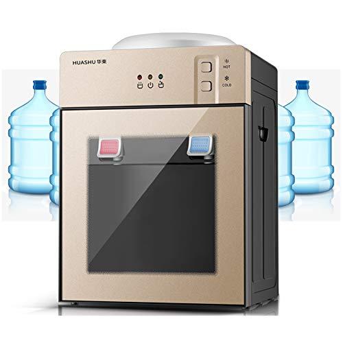 Fetcoi Elektrischer Heißwasserspender Freistehend Heiß Und Kalt Aufsatz-Wasserspender Kaltwasserspender für Trinkwasser Tischwasserspender für Zuhause und Büro