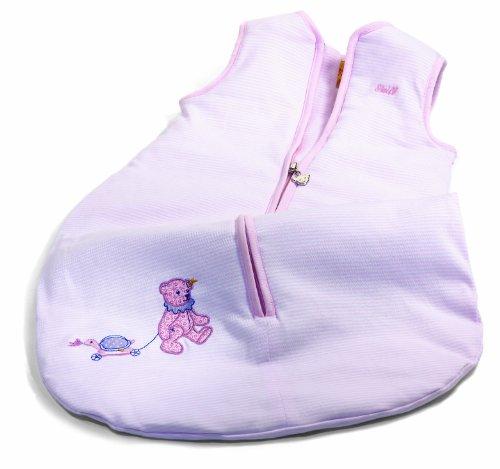 STEIFF 237997 - Teddybär Schlafsack, rosa