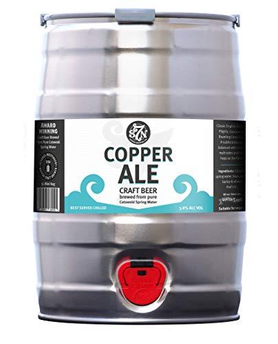 Severn Brewing LTD | Copper Ale Mini Keg 5L | 9 Pints of Refreshing...