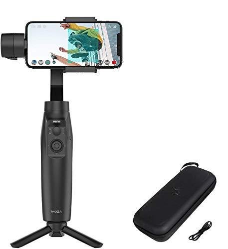 MOZA Mini-Mi Estabilizador para iPhone/3 Axis Estabilizador Smartphone Gimbal, onvierte tu móvil en una cámara Inteligente para Grabar en Movimiento (Reacondicionado)