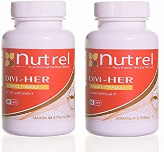 DIVI HER, 2 BOTTLES 60 CAPS weight loss helps control appetite and food cravings