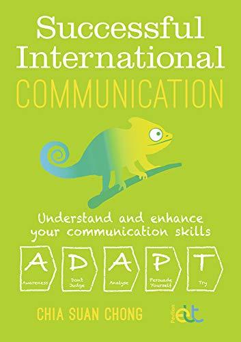 Chong, C: Successful International Communication