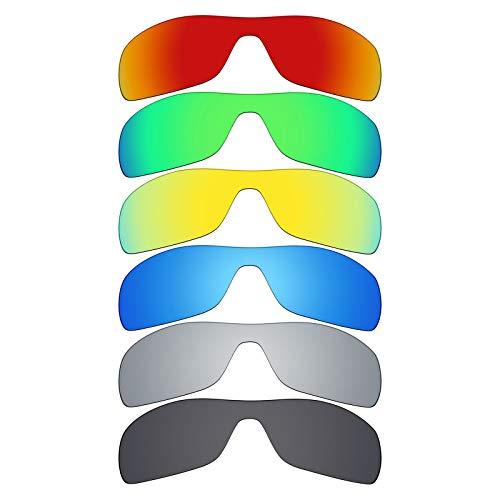 MRY 6Paar Polarisierte Ersatz Gläser für Oakley Antix Sonnenbrille
