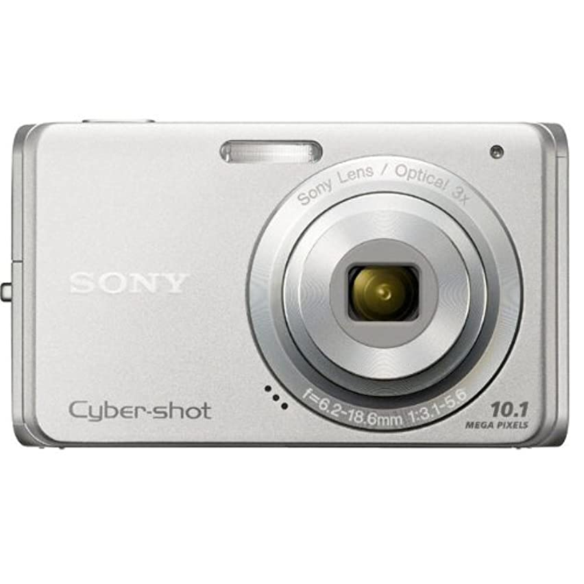 Sony Cyber-shot DSC-W180 10.1MP Digital Camera with 3x SteadyShot Stabilized Zoom and 2.7-inch LCD (Silver)