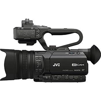 JVC GY-HM170UA Camcorder 3.5  Black