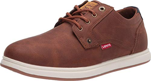 Levi's Mens Arnold Waxed UL NB Classic Fashion Sneaker Shoe, British Tan, 8.5 M