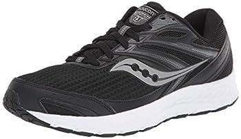 Saucony Men s Cohesion 13 Walking Shoe Black/White 11.5 M US