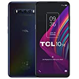 TCL 10 SE - Smartphone de 6.52' HD+ con NXTVISION (Mediatek P22 4G, 4GB/128GB Ampliable MicroSD, Dual SIM, Cámaras de 48MP+5MP+2MP, Batería 4000mAh, Android 10) Color Negro