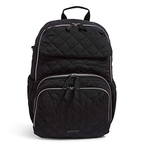 Vera Bradley Performance Twill Backpack Baby Diaper Bag, Black