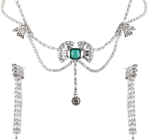 Sisslia Necklace Earring Sets for Women Girl, Freshwater Culture