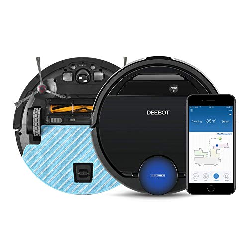 ECOVACS DEEBOT OZMO 960 2-in-1 Vacuuming & Mopping Robot with AIVI Technology (Renewed)