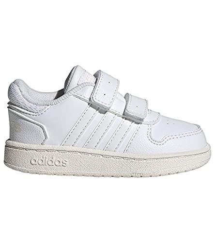 adidas Hoops 2.0 CMF I, Zapatillas, FTWBLA/FTWBLA/BLAMAR, 24 EU