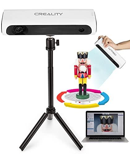 Creality Scanner 3D per stampante 3D - Scanner 3D palmare e automatico con treppiede girevole, professionale scanner 3D kit per modellazione 3D
