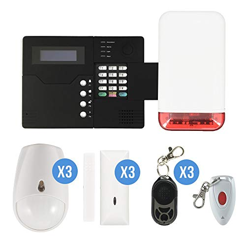 Iprotect Evolution Alarme sans Fil GSM - St-V Kit 9 IP-15AUTOGSM Noir