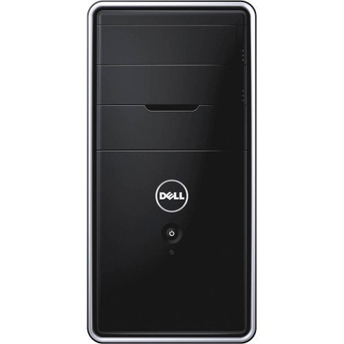 Dell Inspiron 3847 Desktop, Intel Core i7-4790 Processor (8M Cache, up to 4.0 GHz), 8GB DDR3 RAM 1600 MHz, 1TB 7200 rpm HDD, DVD/CD Drive, Bluetooth, HDMI, Windows 10 - Black