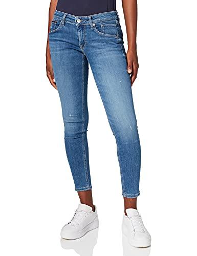 Tommy Jeans Damen Scarlett LR SKNY Ankle AE133 MBS Jeans, Denim...