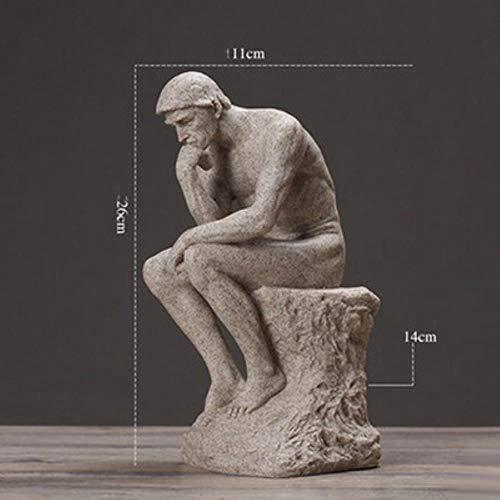 WHRP-Statue Bronzefigur, europäische Retro-Venus-Statue, David, kleine Möbel, Dekoration, Basteln, Zuhause, Wohnzimmer Figuren, Dekoration, Tischdekoration, Stil 7