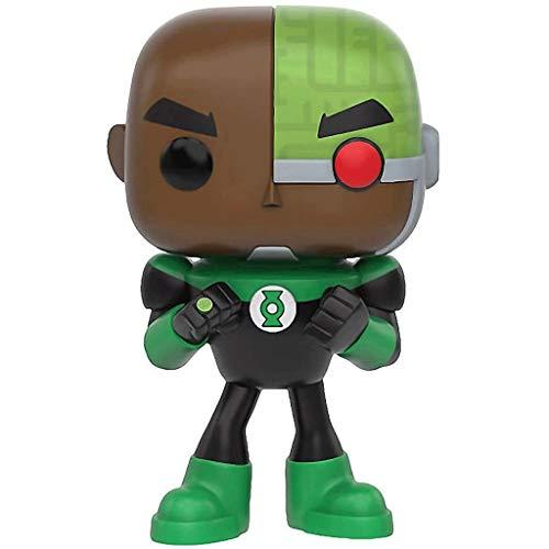 Jokoy Funko Pop Pop Television : Teen Titans Go - Cyborg as Green Lantern 3.75inch Vinyl Gift for Heros Fans Chibi