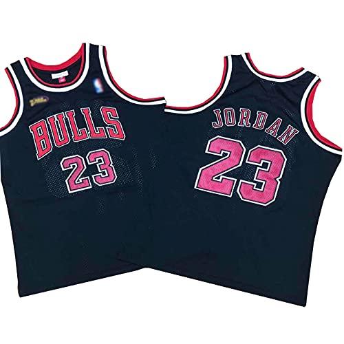 ZRBP # 23 Michael Bulls Uniformes De Baloncesto para Hombre, Uniformes De Equipo, Camisetas Deportivas Sin Mangas, Letras Y Números Personalizados Impresos Y Cosidos L